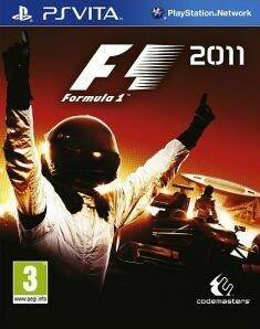 F1 2011 Vita