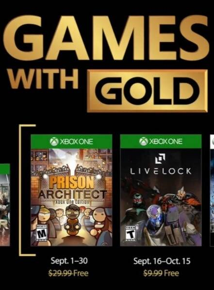 Xbox - Games with Gold